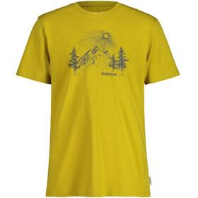 Maloja WeinbirneM. SS T-Shirt Men, golden fall